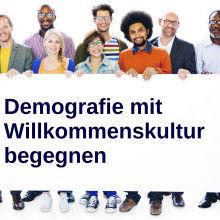 Projektbild Demografie mit Willkommenskulturbegegnen