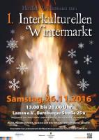 1. Interkultureller Wintermarkt