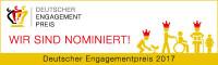 Nominierung Deutscher Engagementpreis 2017