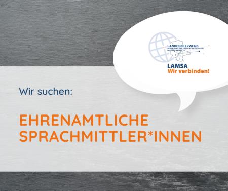 Suche Sprachmittler*innen